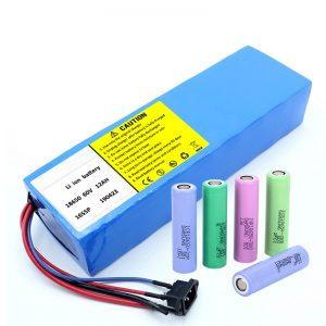Baterei Lithium 18650 60V 12AH paket baterei skuter baterei lithium ion