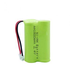 Bateri sing bisa dicabut maneh NiMH AA1800mAh 2.4V