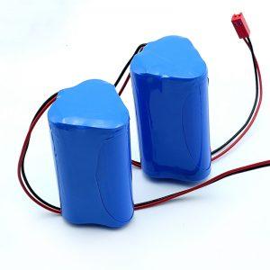 Li-ion isi ulang 3S1P 18650 10.8v 2250mah baterai lithium ion lithium kanggo piranti medis