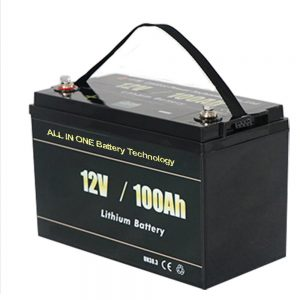 KABEH INI SATU Baterai lithium Solar RV 12v 100ah LiFePO4 paling aman