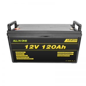 Paket Baterai Baterai Lithium Lifepo4 BMS 12v 120ah Baterai Lifepo4 Lithium Ion 12v