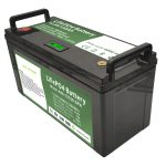Kapasitas baterai 12V150Ah LiFePO4 berkapasitas tinggi kanthi BMS cerdas kanggo mesin cuci lantai Listrik