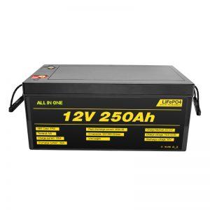 Baterai Sistem Surya Paling Apik Paling Apik 12V 250Ah LiFePO4 Baterai Lithium Ion