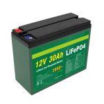 OEM Baterai Isi Ulang 12V 30Ah 4S5P Litium 2000+ Produsen Sel Siklus Deep Lifepo4
