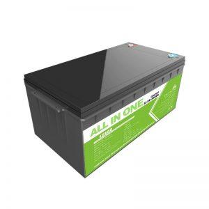 Kapasitas Dhuwur Siklus Jero Isi Ulang 12.8v 400ah Paket Baterai Lifepo4 Lithium Ion