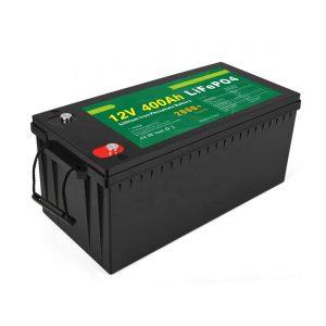Harga Pabrik Batere Siklus Solar LFP Surya 12v 400Ah Baterai LiFePO4 Surya