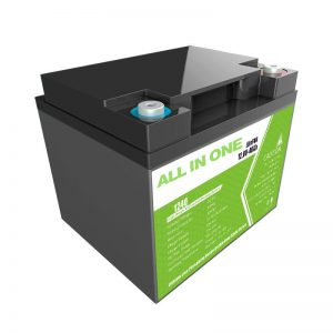 Rega pabrik 12.8V 40Ah asam timah kanggo panyimpenan energi alat ing omah