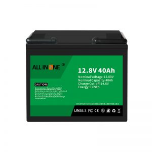 12.8V 40Ah LiFePO4 Acid Replacement Lithium ion Battery Pack 12V 40Ah