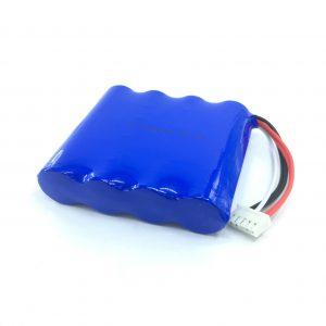 Isi ulang 14.8V 2200 mAh 18650 Paket Baterai Lithium Li-ion kanggo Pembersih Vakum Cerdas