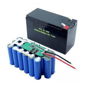 ALL IN ONE 18650 3S5P 12Volt Lithium Battery 11Ah Rechargeable Lithium Pack Pack
