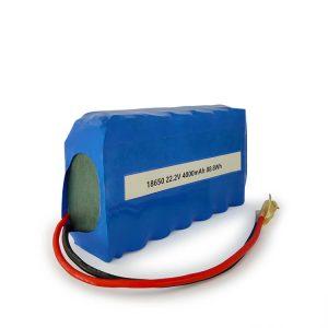 Baterai li-ion ICR18650 khusus 6S2P bisa diisi ulang 22.2v 4000mAh baterai lithium ion