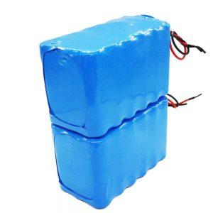 Baterai sing bisa diisi ulang larang 18650, siklus jero dhuwur 24 volt baterai lithium ion kanggo sepeda listrik