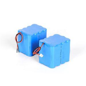 Batere baterai lithium sing bisa diisi ulang 18650, batere baterei dhuwur 3s4p 12v li ion