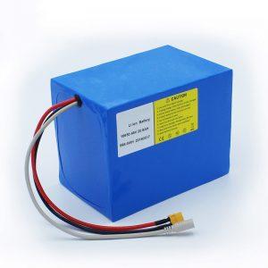 Baterei Lithium 18650 48V 20.8AH kanggo sepedha listrik lan kit sepeda