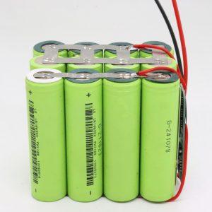 Grosir khusus 18650 lithium 4s3p papan PCB tahan banyu batere siklus 12v 10AH kanggo alat listrik