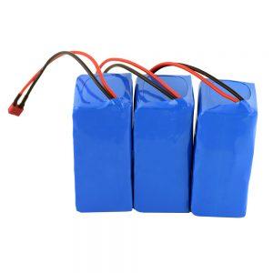 18V 4.4Ah Paket Batere ion lithium 5S2P sing Bisa Diisi ulang kanggo Piranti Listrik