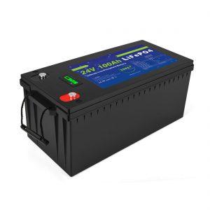 Baterai lithium ion jero siklus Lifepo4 24v 200ah batere panyimpenan surya 3500+ siklus lan batere baterai ion