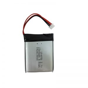 3.7V 2300mAh Alat uji coba lan baterai batere lithium polimer AIN104050