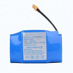 Paket batere lithium hoverboard 36v 4400mah paling laris