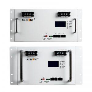 ALL IN ONE 10 kwh 7KWH 5kwh batere LiFePo4 Baterai Lithium 48V 100Ah 150Ah 200Ah Siklus Jero UPS Penyimpanan Energi Serep Surya
