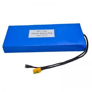 Grosir baterai lithium 48Ah 48V kanggo skuter listrik