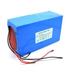 Paket baterai lithium 48v / 20ah kanggo skuter listrik