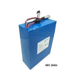 Baterai lithium 48v26ah kanggo skuter listrik etwow motor listrik baterai graphene baterai 48 volt produsen baterai lithium