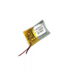 Batere polimer lithium berkualitas tinggi 3.7V 50mAh 581013 batere