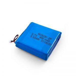 Batere Rechargeable Custom 3,7V 450 530 550 700 750 800 900Baterai Li-Po Lipo