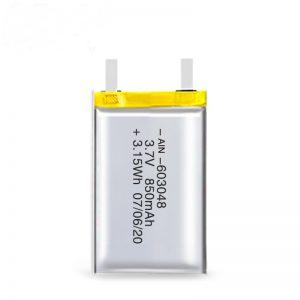 Bateri sing bisa dicopot maneh LiPO 603048 3.7V 850mAh / 3.7V 1700mAH / 7.4V 850mAH