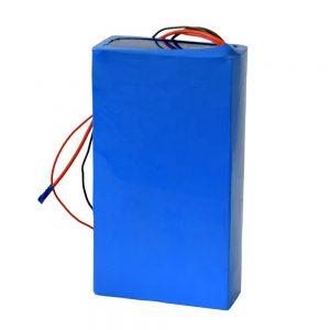 Baterai lithium 60v 12ah sing bisa diisi ulang kanggo skuter listrik