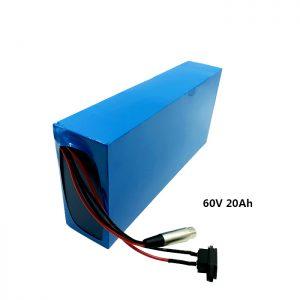 Paket batre Isi ulang batere lithium batere EV 60v 20ah