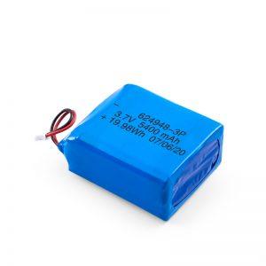 Bateri sing bisa dicopot maneh LiPO 624948 3.7V 1800mAH / 3.7V 5400mAH