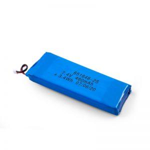 Bateri sing bisa dicopot maneh LiPO 651648 3.7V 460mAh / 3.7V 920mAH / 7.4V 460mAH