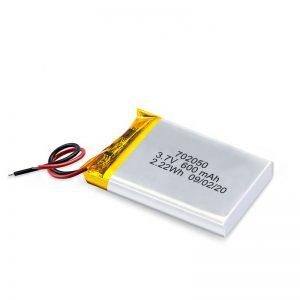 Grosir Grosir 3.7V 600Mah 650Mah Baterai Lithium Li-Polimer Baterai Isi Ulang Kanggo Mobil Toy