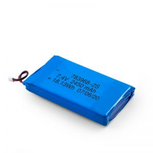 Bateri sing bisa dicopot LiPO 783968 3.7V 4900mAH / 7.4V 2450mAH / 3.7V 2450mAH /