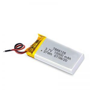 Bateri sing bisa diisi ulang LiPO 7866120 3.7V 10000mAh / 3.7V 20000mAH / 7.4V 10000mAh
