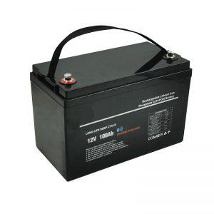 Suhu rendah LiFePO4 12V 100AH