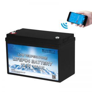 Suhu Baterai LiFePO4 Sithik 12V 100AH