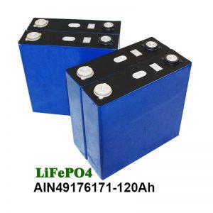 Bateri prisma LiFePO4 3.2V 120AH kanggo UPS motor sistem solar