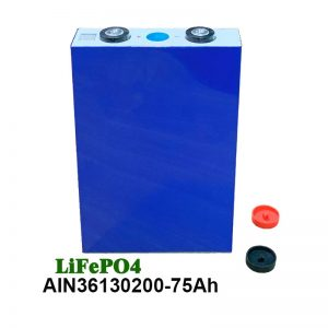 Bateri prisma LiFePO4 36130200 3.2V 75AH