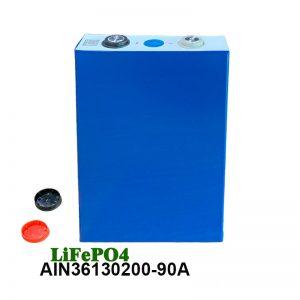 Baterai LiFePO4 Prismatic 3.2V 90AH baterai isi ulang sel lifepo4 kanggo alat listrik mobil kursi roda listrik