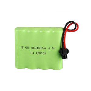 Bateri sing bisa dicabut maneh NiMH AA2400mAH 4.8V