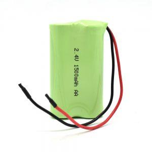Bateri sing bisa dicabut maneh NiMH AA1500mAh 2.4V
