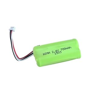 Bateri sing bisa dicabut maneh NiMH AA700 2.4V