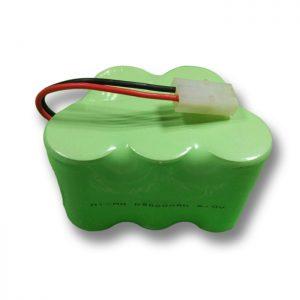 Bateri sing bisa dicabut maneh NiMH D9000mAH 6V