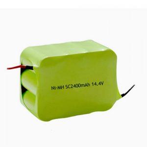 Bateri sing bisa dicabut maneh NiMH SC 2400mAH 14.4V