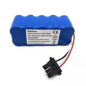 Baterai 12v ni-mh kanggo pembersih vakum TEC-5500, TEC-5521, TEC-5531, TEC-7621, TEC-7631