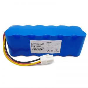 batere pembersih vakum pengganti 14.4v berkualitas tinggi kanggo navibot SR8750 DJ96-00113C VCA-RBT20